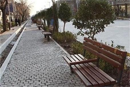 پیاده راه چهارراه ولیعصر (عج) به مردم باز گردانده شد