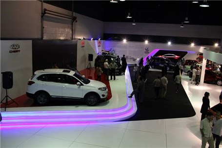 چری تیگو5 امروز در نمایشگاه خودرو مشهد رونمایی میشود