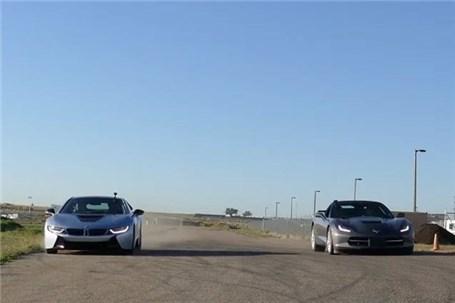 رویارویی دیترویت بنزینی با باواریای هایبرید (ویدئو)