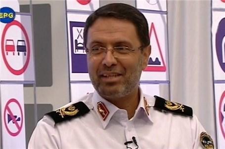 توضیحات رییس پلیس راهور تهران درباره تصادف خودروی تیبا