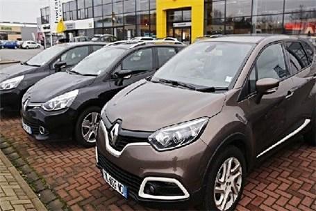 خودروهای فرانسوی در بازار چند؟