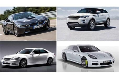 قیمت خودروهای لوکس وارداتی در بازار + جدول