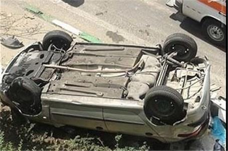 بروز تصادفات واژگونی در محورهای منتهی به مرزهای ایلام و خوزستان
