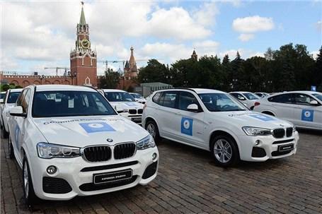 فروش خودروهای لوکس مدالآوران المپیکی روسیه