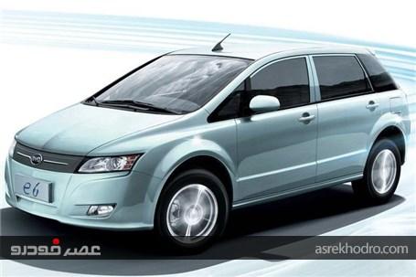 گزارش تصویری از نخستین خودرو برقی ایران