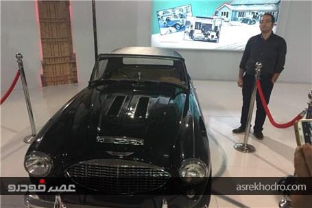 گزارش تصویری از اولین حضور ام جی پارس موتور در ایران
