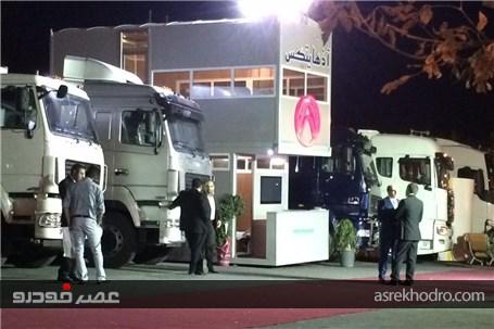 حضور پر قدرت آذهایتکس در نمایشگاه خودرو تبریز