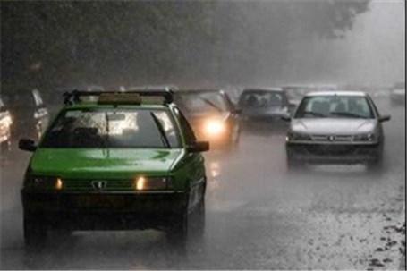 ترافیک سنگین در محور مهران-صالح آباد