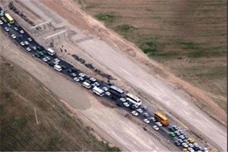 ترافیک نیمه سنگین در محورهای مواصلاتی منتهی به شلمچه و چذابه