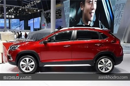 مهمان جدید چینی بازار خودرو مشخص شد +تصاویر