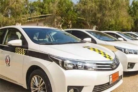 ساماندهی بیش از ۹۵۰ تاکسی قشم در ۵ رنگبندی
