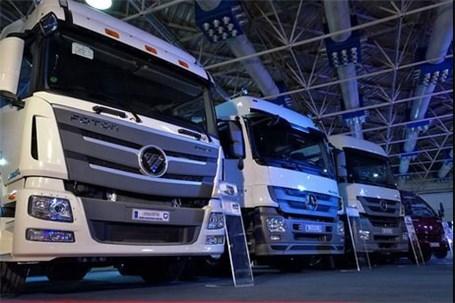 دنده سنگین کامیون و اتوبوس در جاده تولید