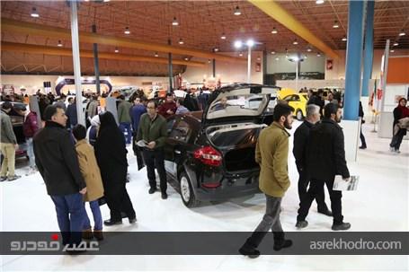 حضور گروه سایپا در نمایشگاه صنعت خودرو گرگان