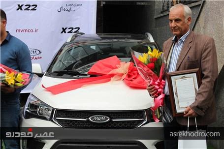 آغاز تحویل خودرو MVM X22 به مشتریان