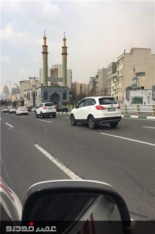 رژه خودروهای چری و ام وی ام در خیابانهای پایتخت