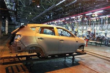تیراژ خودروسازان خصوصی رشد کرد