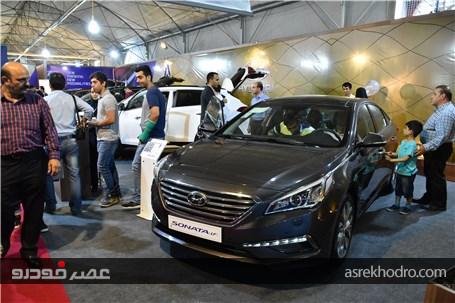 گشت و گذار تصویری در اولین روز نمایشگاه خودرو البرز