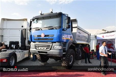گزارش تصویری غرفه پادرا دیزل در چهارمین نمایشگاه خودرو استان البرز