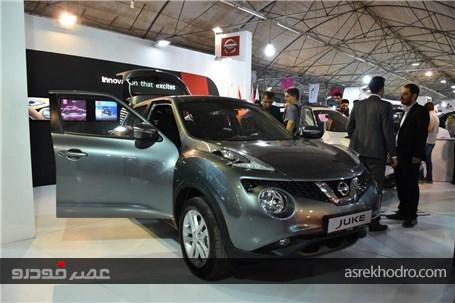 گزارش تصویری از غرفه جهان نوین آریا در نمایشگاه خودرو مشهد