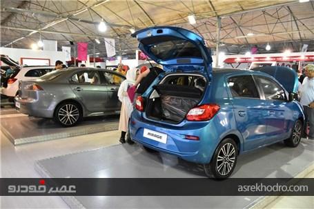 گزارش تصویری از حضور آرین موتور در نمایشگاه خودرو البرز