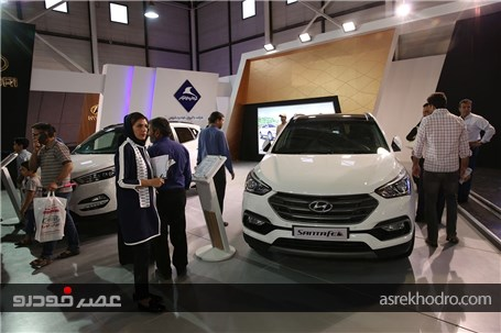 گزارش تصویری از حضور کرمان موتور در نمایشگاه خودرو مشهد