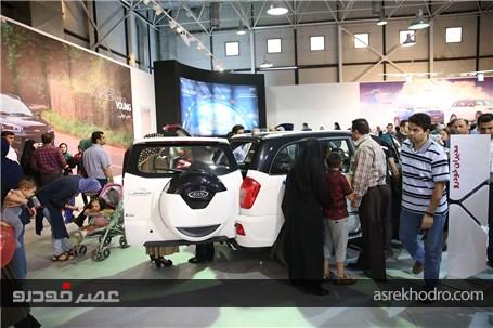 گزارش تصویری از حضور مدیران خودرو در نمایشگاه خودرو مشهد