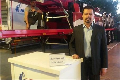 مدیر فروش قطعات و خدمات شرکت ماموت دیزل: سبز ترین خودرو ترانزیت دنیا در نمایشگاه خودرو مشهد