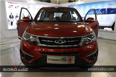 گزارش تصویری از حضور مدیران خودرو در نمایشگاه خودرو تبریز