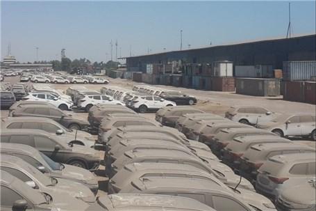ابهامات ترخیص خودروهای مانده در گمرک