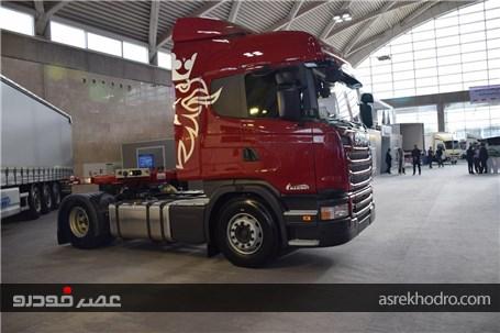 پایگاه اطلاع رسانی عصر خودرو - گزارش تصویری از حضور کامیون ...