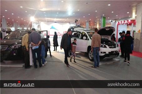 گزارش تصویری از حضور خودروسازی کارمانیا در نمایشگاه خودروی بندر عباس