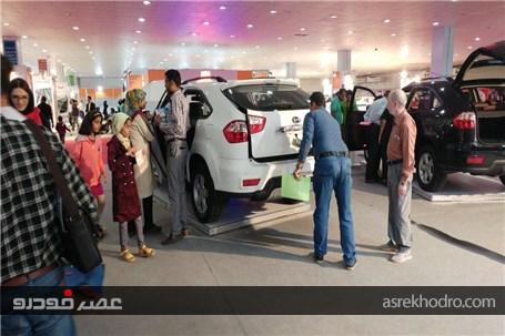 حضور خودروسازی کارمانیا در نمایشگاه خودروی بندر عباس.