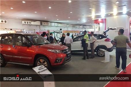 گزارش تصویری از غرفه مدیران خودرو در نمایشگاه خودروی بندرعباس