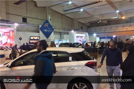 گزارش تصویری از افتتاح هشتمین نمایشگاه بین المللی خودرو کرمان