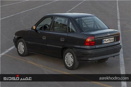 ملاقات با اُپل آسترا 1400 جی ال 1995؛ کوچک اما با وقار