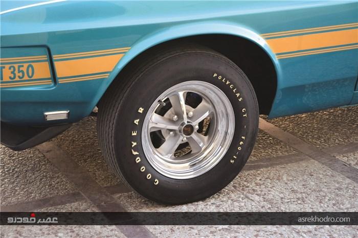 ملاقات با فورد ماستنگ شلبی GT350 مدل 1969؛ نیش کبرا