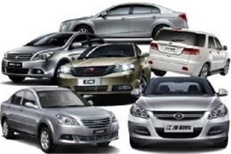 خودروهای چینی بازار چند؟