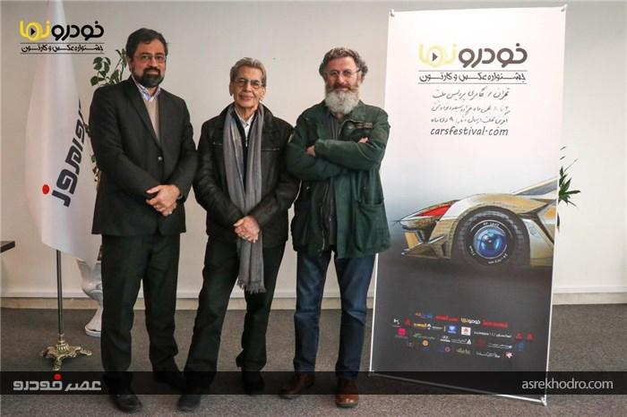 40 کارتون و 99 تک عکس و مجموعه عکس در جشنواره خودرونما