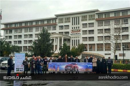 تور بین المللی چری، از تهران تا باکو