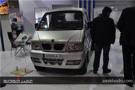 گزارش تصویری از غرفه سایپا در نمایشگاه خودرو اصفهان