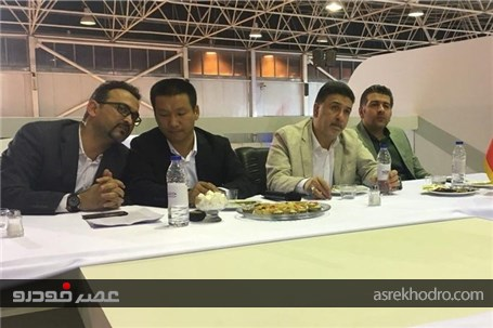 رییس هیات مدیره مدیران خودرو در حاشیه نمایشگاه خودرو اصفهان: آماده عرضه خودروهای برقی هستیم