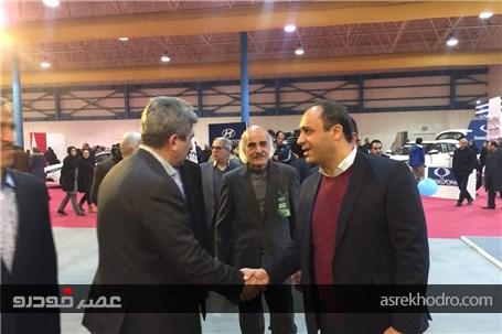 گزارش تصویری از افتتاحیه نمایشگاه خودرو گلستان