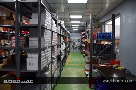 افتتاح مرکز خدمات پس از فروش نمایندگی مجاز 322 گودرزی مدیران خودرو +تصاویر