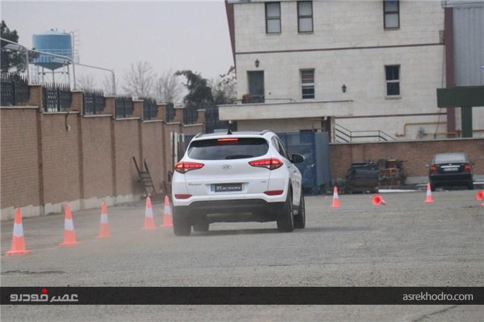 گزارش تصویری از آزمایش محصولات هیوندای توسط خبرنگاران