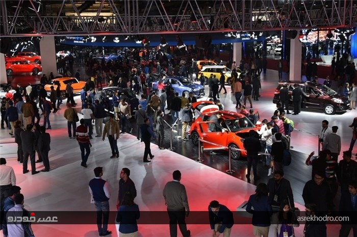 گردهمایی خودروسازان بزرگ دنیا در هند