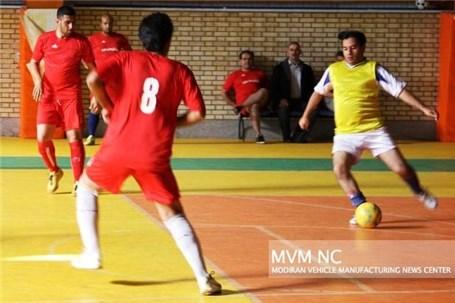 مسابقات فوتسال جام رمضان مدیران خودرو برگزار میشود