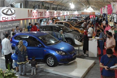 حضور قدرتمندانه مدیران خودرو در پنجمین نمایشگاه خودرو و قطعات البرز