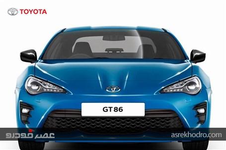 تویوتا GT86، با نسخه جدید عرضه می شود