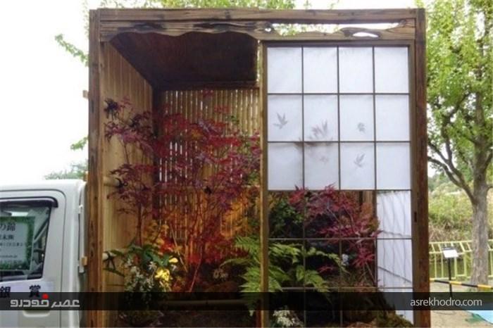 باغ های سیار ایده جالب ژاپنی ها +تصاویر
