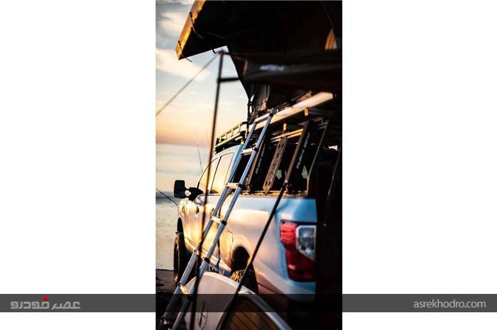 خودرو نیسان مخصوص مسافرت
